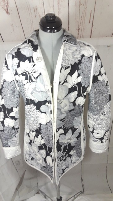 Burberry Reversible Floral white,multi Jacket Image 1