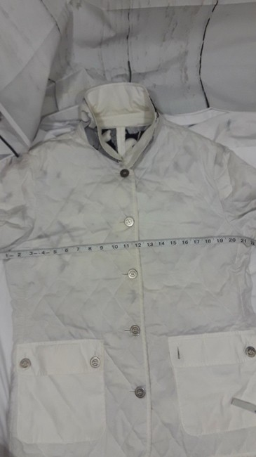 Burberry Reversible Floral white,multi Jacket Image 2