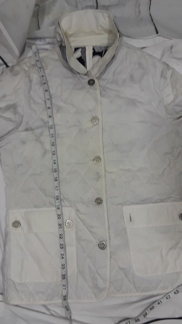 Burberry Reversible Floral white,multi Jacket Image 3