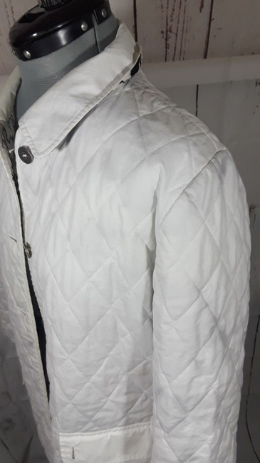 Burberry Reversible Floral white,multi Jacket Image 4
