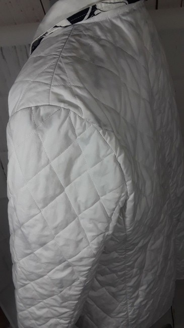 Burberry Reversible Floral white,multi Jacket Image 5