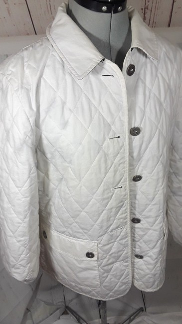Burberry Reversible Floral white,multi Jacket Image 9