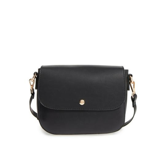 Preload https://img-static.tradesy.com/item/23142345/nordstrom-minimal-faux-leather-black-polyurethane-cross-body-bag-0-0-540-540.jpg