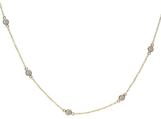 Preload https://img-static.tradesy.com/item/23142364/avital-and-co-jewelry-14k-yellow-gold-090-carat-round-diamonds-by-the-yard-necklace-0-1-540-540.jpg