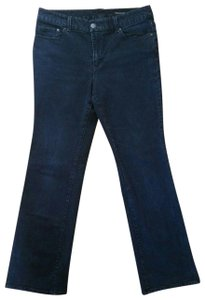 Seven7 Dark Wash Boot Cut Jeans-Dark Rinse