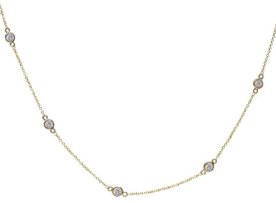 Preload https://img-static.tradesy.com/item/23142487/avital-and-co-jewelry-14k-yellow-gold-090-carat-round-diamonds-by-the-yard-necklace-0-1-540-540.jpg