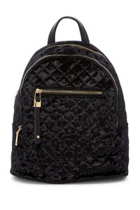 Urban Expressions Velvet Quilited Backpack