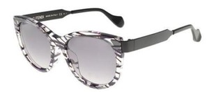 Fendi New Fendi Women Sunglasses FF/0181/S VDY/VK Black Frame Grey Lens