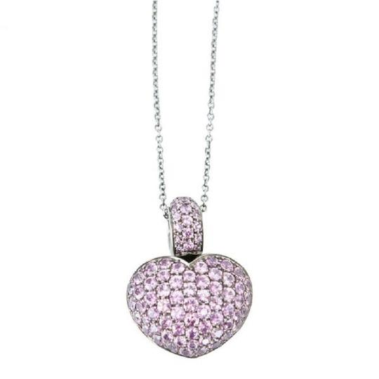 Preload https://img-static.tradesy.com/item/23142664/pasquale-bruni-pink-sapphire-heart-necklace-0-0-540-540.jpg