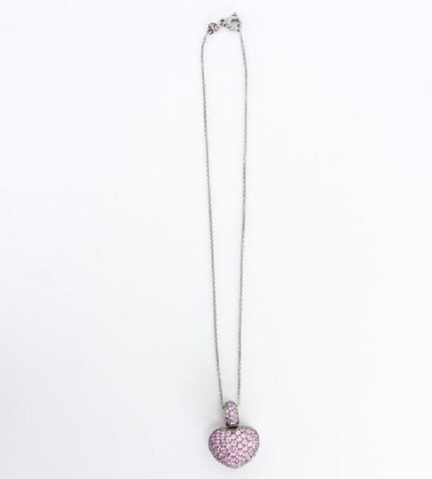 Pasquale Bruni Pink Sapphire Heart Necklace