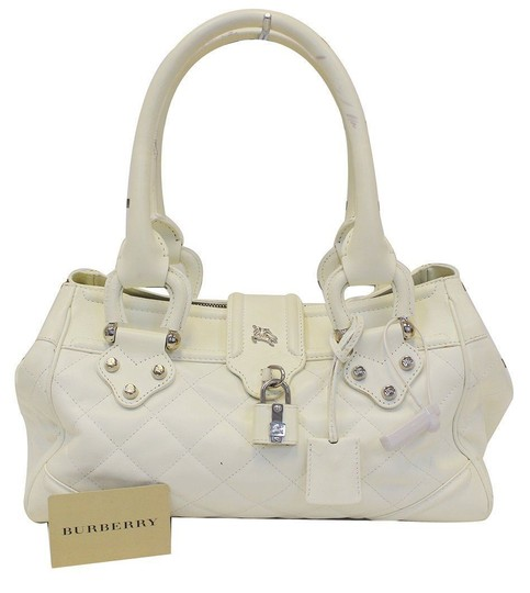 Preload https://img-static.tradesy.com/item/23142696/burberry-white-quilted-leather-montgomery-satchel-shoulder-bag-0-0-540-540.jpg