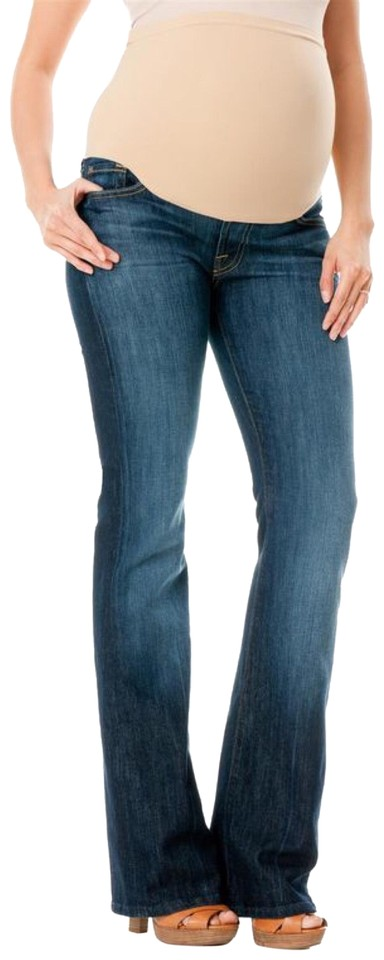 d8619516cc083 7 For All Mankind Pea In The Pod Maternity Denim Size 8 (M) - Tradesy