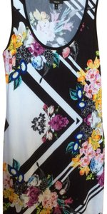 Grayse short dress black, white, multi on Tradesy