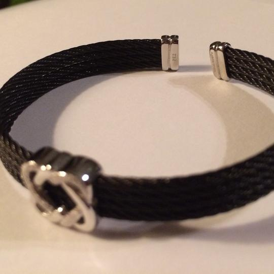 Charriol SALE - CHARRIOL Celtic Noir Wide Cable Bracelet