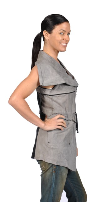 Runway Fashion Grey Jacket