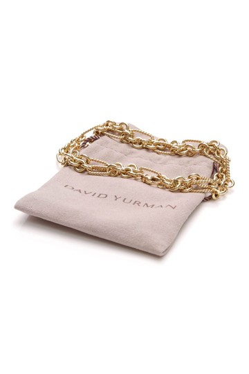 David Yurman David Yurman Vintage Figaro Necklace - 18K Gold