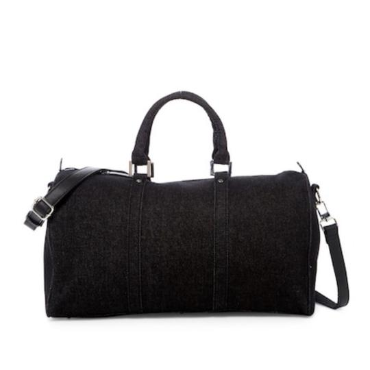 Preload https://img-static.tradesy.com/item/23142843/urban-expressions-miles-duffel-black-denim-weekendtravel-bag-0-1-540-540.jpg