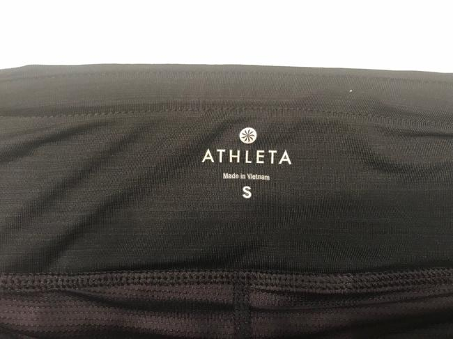 Athleta Stripe Swagger Skort - Size S, Black