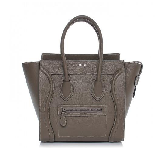 Preload https://img-static.tradesy.com/item/23142965/celine-luggage-micro-olive-souris-drum-calf-leather-tote-0-0-540-540.jpg