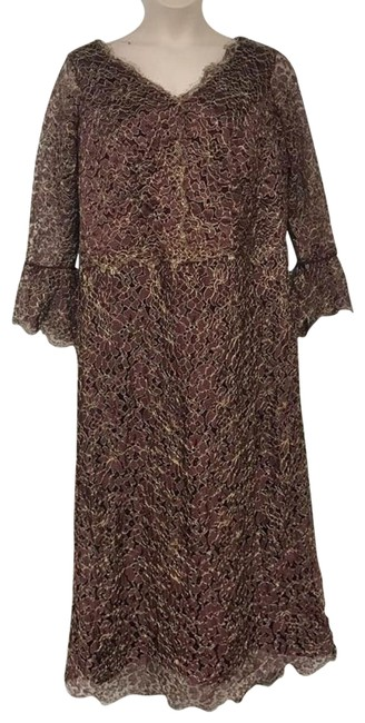 Preload https://img-static.tradesy.com/item/23142995/burgundygold-guipure-lace-cocktail-evening-gown-long-formal-dress-size-16-xl-plus-0x-0-2-650-650.jpg