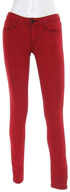 Preload https://img-static.tradesy.com/item/23143043/earnest-sewn-red-distressed-harlan-zipper-colored-low-skinny-jeans-size-26-2-xs-0-1-650-650.jpg