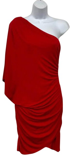 Preload https://img-static.tradesy.com/item/23143062/haute-hippie-red-shirred-detail-one-shoulder-s-short-night-out-dress-size-6-s-0-2-650-650.jpg
