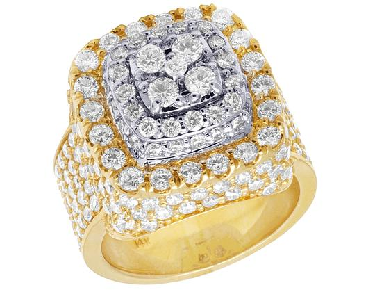 Preload https://img-static.tradesy.com/item/23143124/jewelry-unlimited-14k-yellow-gold-square-dome-diamond-pinky-735-ct-20mm-ring-0-0-540-540.jpg
