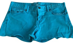 Lucky Brand Cut Off Shorts turquoise
