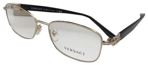 Versace Authentic VERSACE Eyeglasses 1226-B 1252 54-16 Gold & Black Frame
