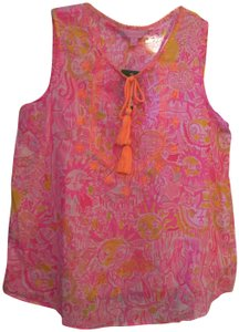 Lilly Pulitzer Top Pink Pout
