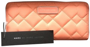 """Marc by Marc Jacobs Marc By Marc Jacobs M0006118 Crosby Leather Wallet/""""Spring Peach"""""""