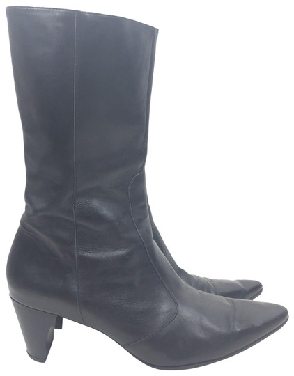 Preload https://img-static.tradesy.com/item/23143236/robert-clergerie-black-leather-pointed-mid-calf-bootsbooties-size-us-8-regular-m-b-0-2-540-540.jpg