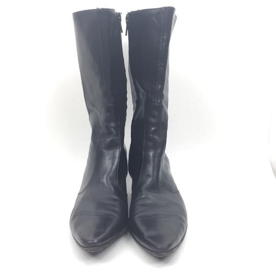 Robert Clergerie Leather Black Boots