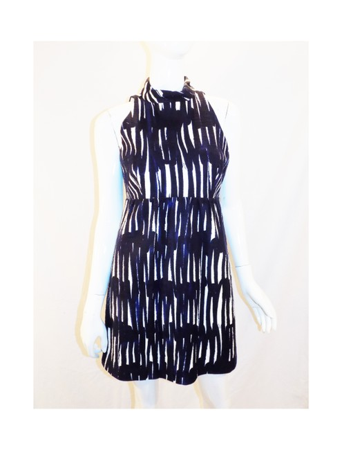 Preload https://img-static.tradesy.com/item/23143244/milly-black-blue-white-new-with-tags-backless-short-casual-dress-size-8-m-0-0-650-650.jpg
