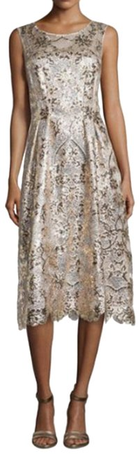 Preload https://img-static.tradesy.com/item/23143287/kay-unger-gold-new-york-sleeveless-lace-mid-length-cocktail-dress-size-14-l-0-1-650-650.jpg