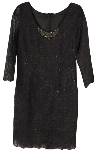 Preload https://img-static.tradesy.com/item/23143288/velvet-by-graham-and-spencer-grey-lace-mid-length-cocktail-dress-size-12-l-0-1-650-650.jpg
