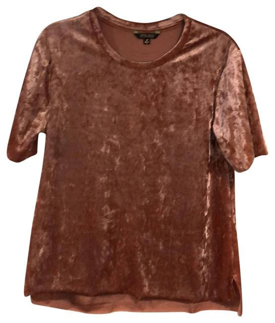 Preload https://img-static.tradesy.com/item/23143306/dusty-peachpink-velvet-t-tee-shirt-size-8-m-0-1-650-650.jpg