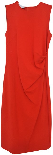 Preload https://img-static.tradesy.com/item/23143402/akris-punto-red-sleeveless-scoopneck-pleated-mid-length-short-casual-dress-size-4-s-0-1-650-650.jpg