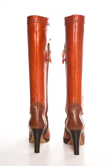 MaxMara Burnt Orange Boots