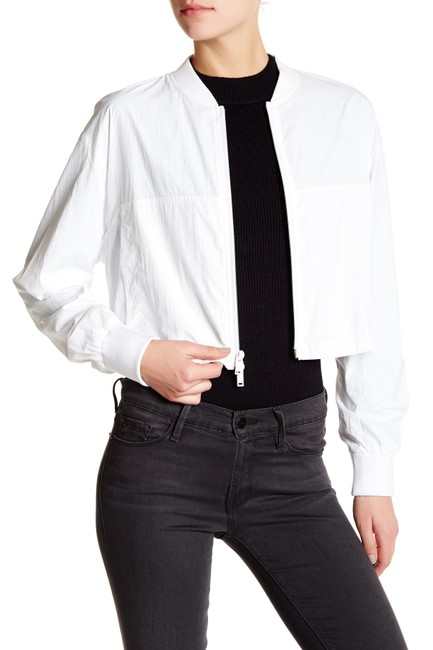 DKNY White Chalk Jacket