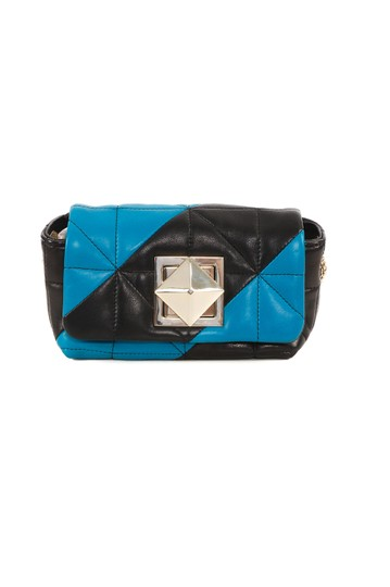 Preload https://img-static.tradesy.com/item/23143482/sonia-rykiel-quilted-black-and-blue-leather-cross-body-bag-0-0-540-540.jpg