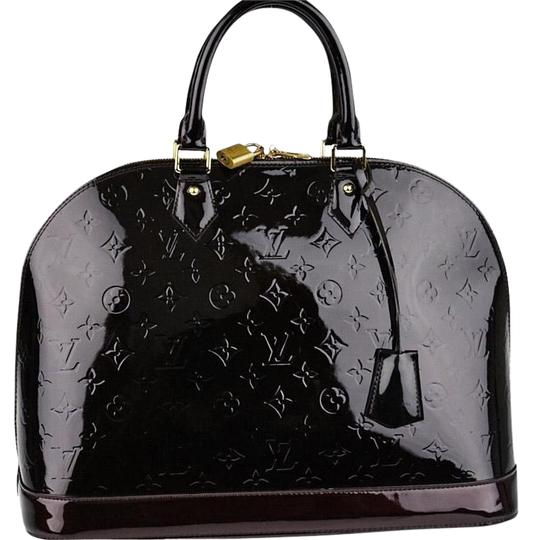 Preload https://img-static.tradesy.com/item/23143486/louis-vuitton-alma-gm-handbag-amarante-monogram-vernis-leather-satchel-0-7-540-540.jpg