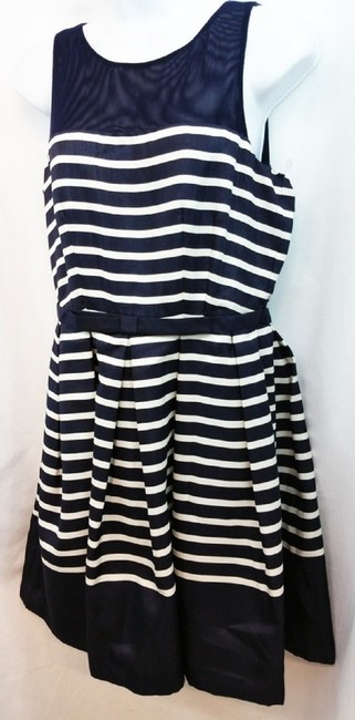 Taylor short dress Navy on Tradesy