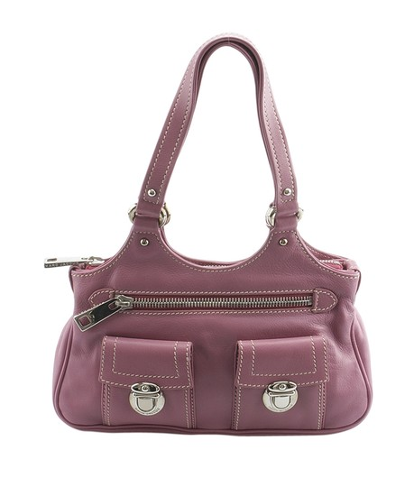 Preload https://img-static.tradesy.com/item/23143574/marc-jacobs-145991-purple-leather-satchel-0-0-540-540.jpg