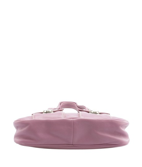 Marc Jacobs Leather Satchel in Purple