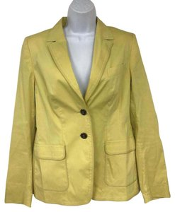 Escada Jacket Yellow Blazer