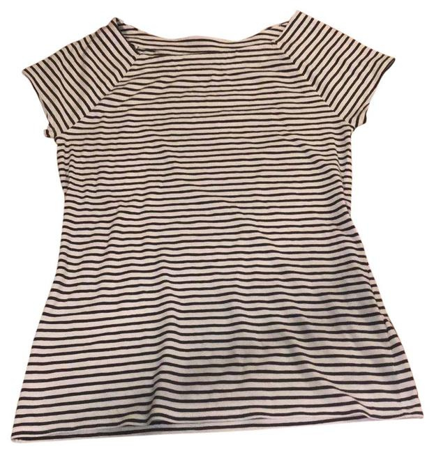 Item - and Striped Short Sleeve Tunic Size 4 (S)