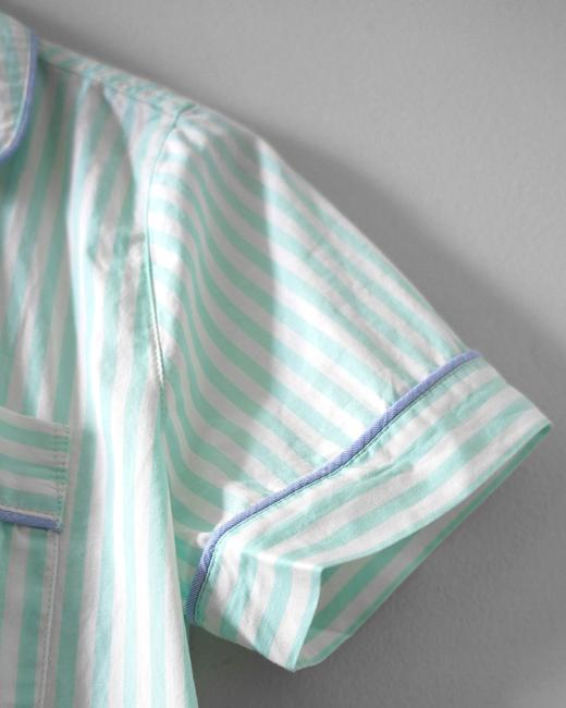 J.Crew Spring Button Down Shirt Mint Stripe