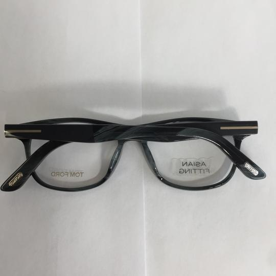 Tom Ford New TF 5431-F Asian Fit 064 Gray Horn Plastic Eyeglasses 53mm