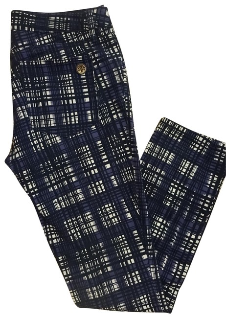 Preload https://img-static.tradesy.com/item/23143779/tory-burch-black-navy-and-white-plaid-printed-straight-leg-jeans-size-28-4-s-0-4-650-650.jpg